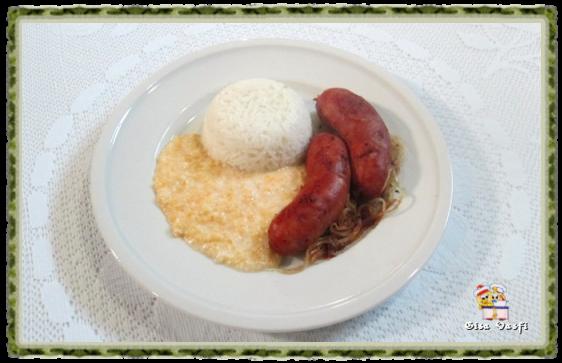 Linguiça toscana com canjiquinha 1