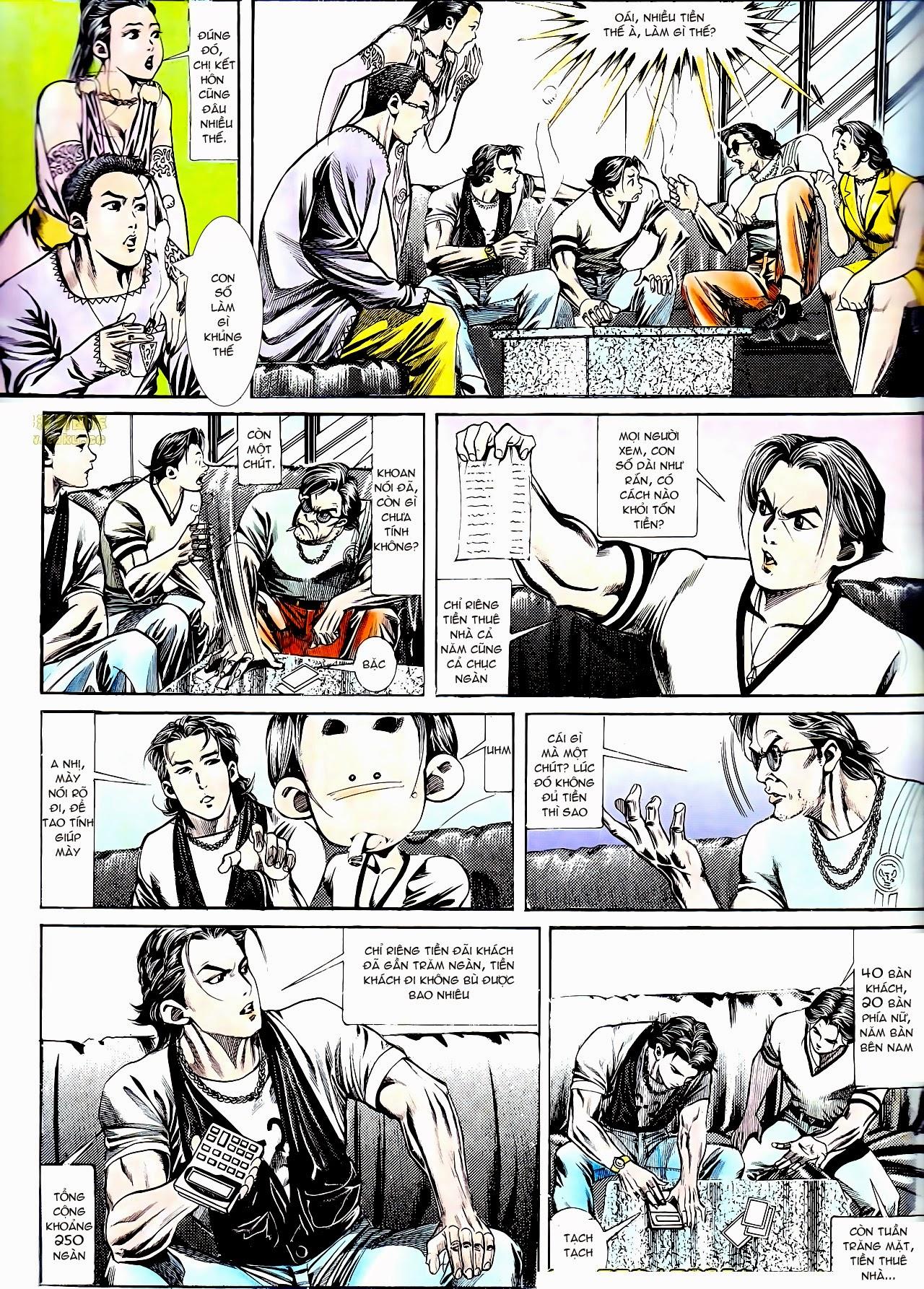 Người Trong Giang Hồ chapter 135: cạm bẫy rình rập trang 7