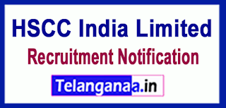 HSCC India Limited Recruitment Notification 2017