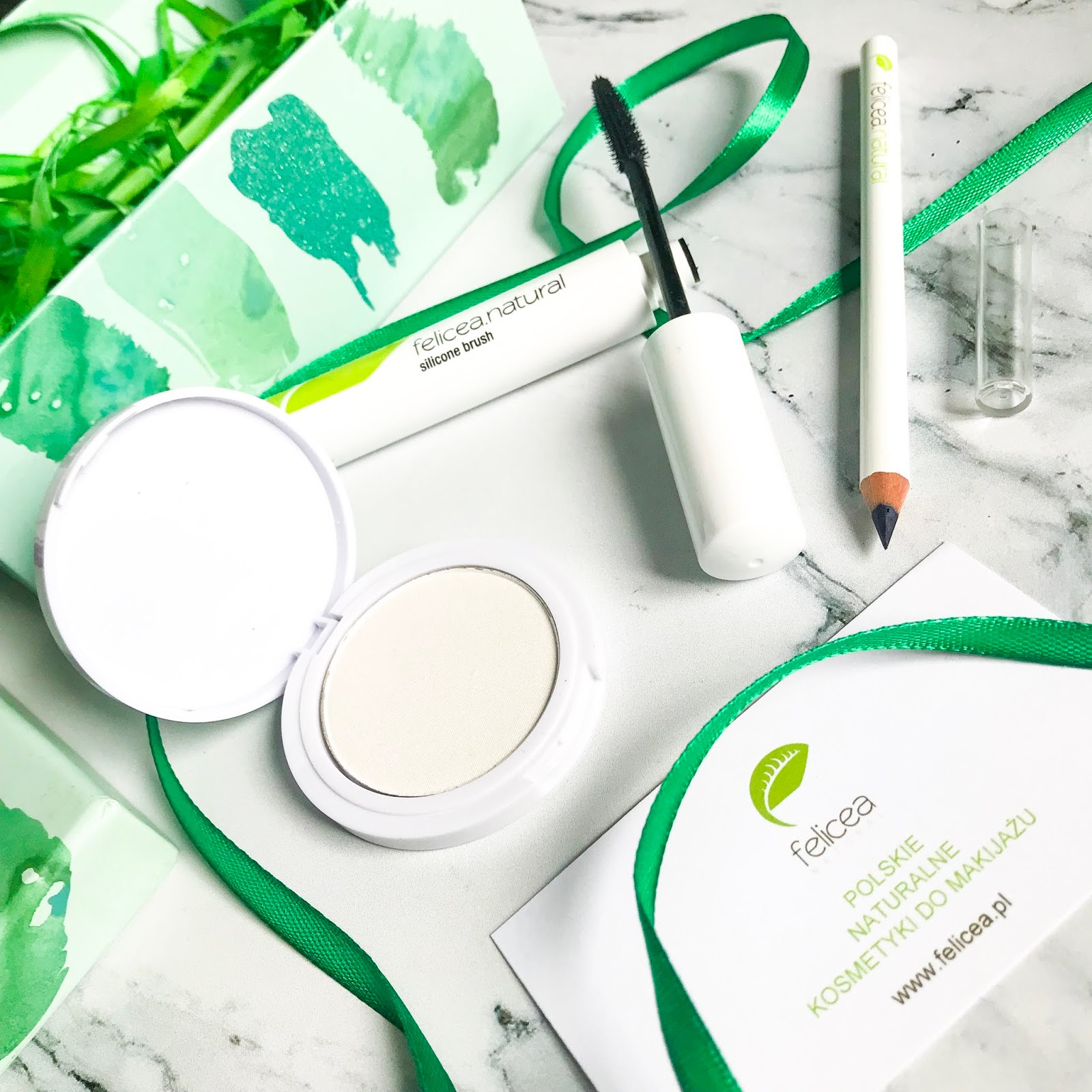 Naturalne kosmetyki do makijażu - polska marka Felicea recenzja