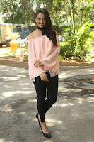 Rakul Preet Singh in lovely Pink Crop Top and Black Trousers at Jaya Janaki Nayaka success meet 078.JPG