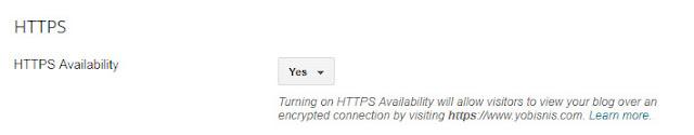 mengaktifkan https custom domain blogspot