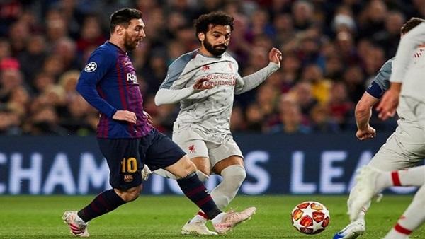 محمد صلاح يتفق مع ميسي على الإنتقال الى برشلونة فى الموسم المقبل