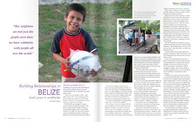Building Relationships in Belize