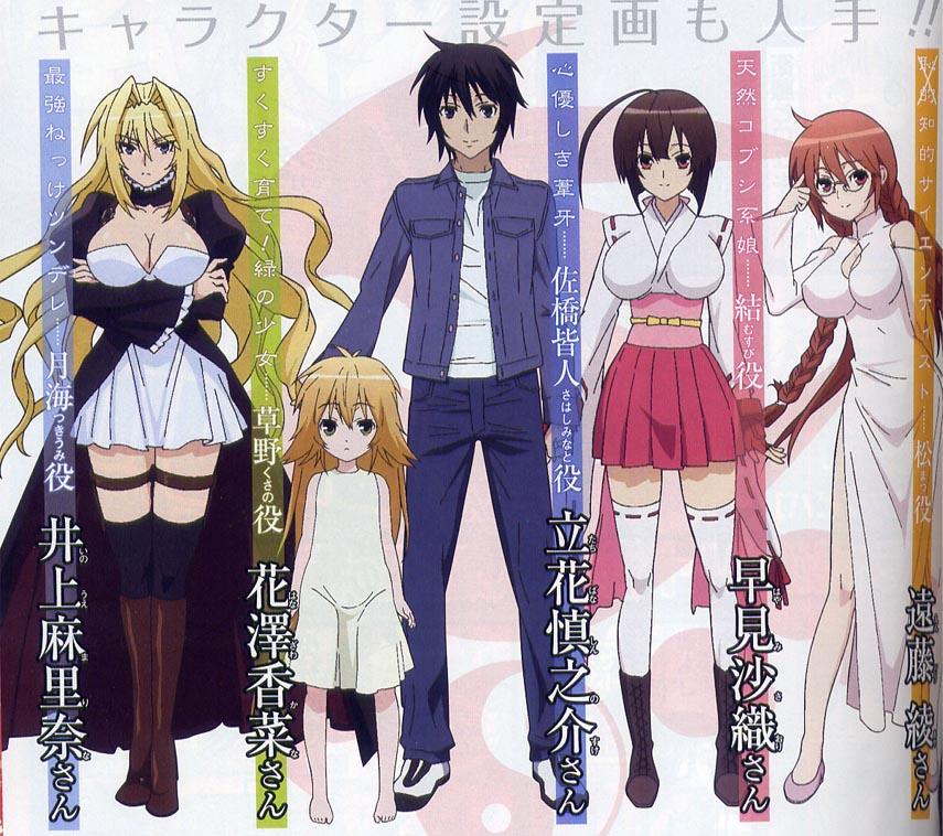 MONDO BIZARRO: Mondo Bizarro Reviews Anime: Sekirei