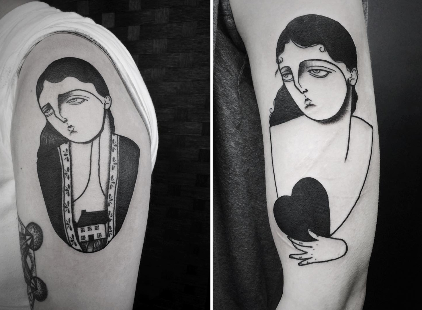 fidjit women with tattoos. Black Bedroom Furniture Sets. Home Design Ideas