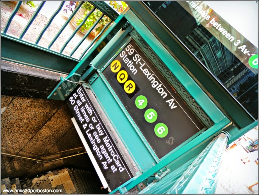 Dylan´s Candy Bar: Parada de Metro