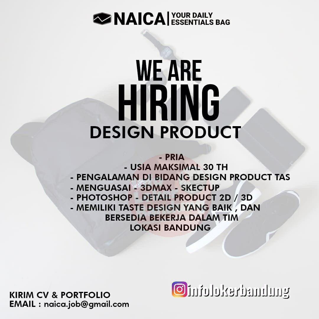 Lowongan Kerja Naica Brand Bandung Mei 2019