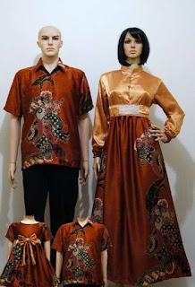 Sarimbit batik keluarga elegan