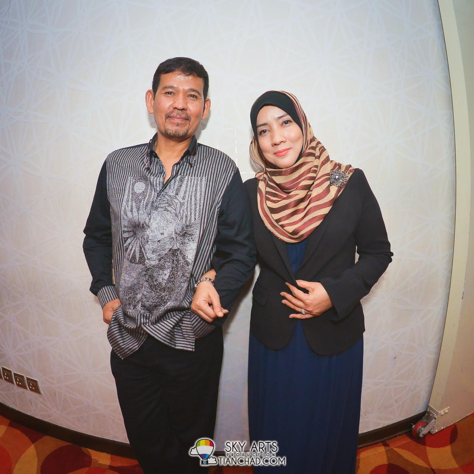 Shila Amzah's parents who has been very supportive in her music career
