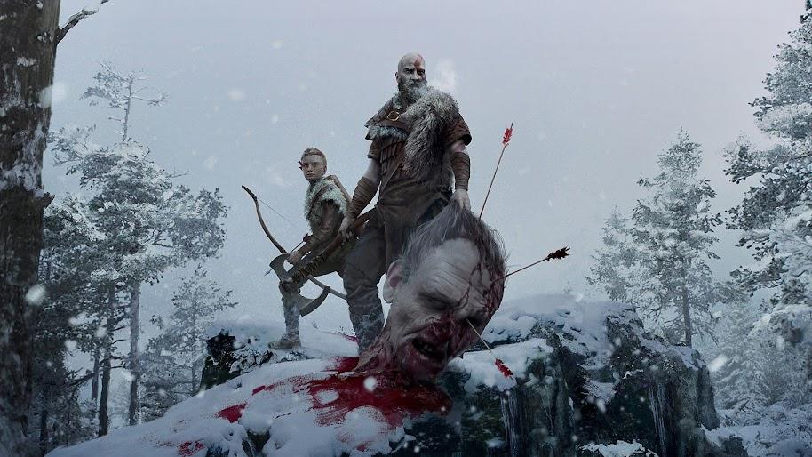 God Of War Ps4 Kratos Atreus 4k 3840x2160 Wallpaper 51