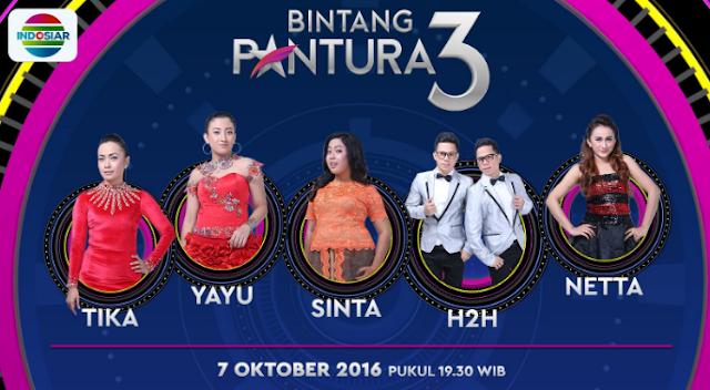 Peserta Bintang Pantura 3 yang Turun Panggung Tgl 07 Oktober 2016