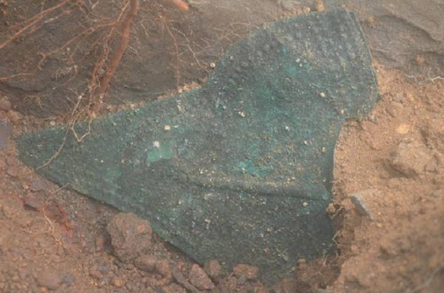 Intact Etruscan tomb with princely grave goods unearthed at Vulci