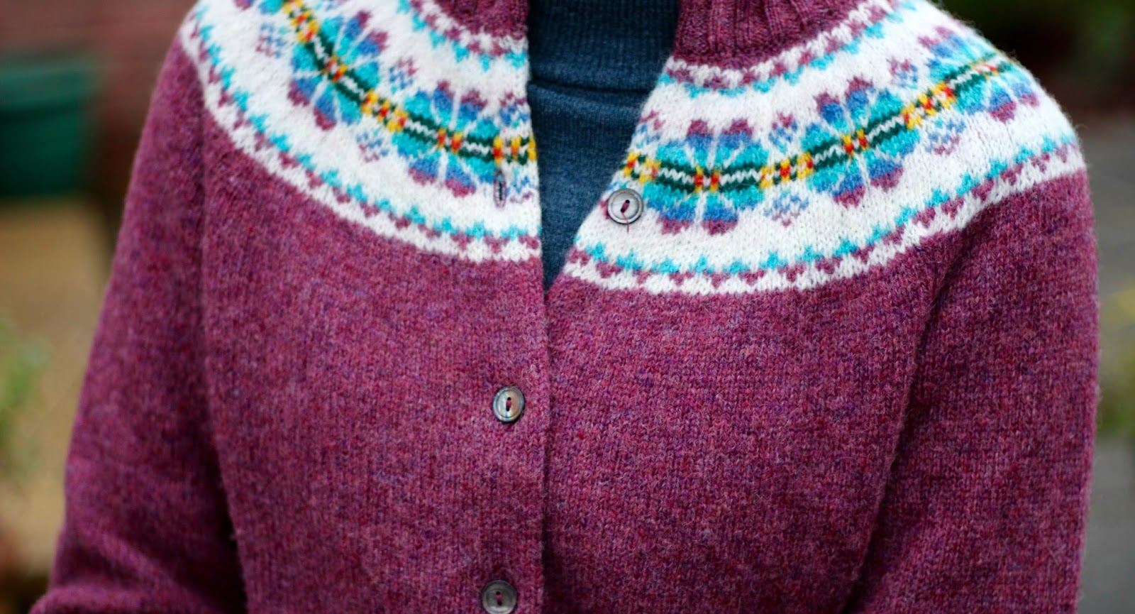 Vintage Fair Isle | Fake Fabulous
