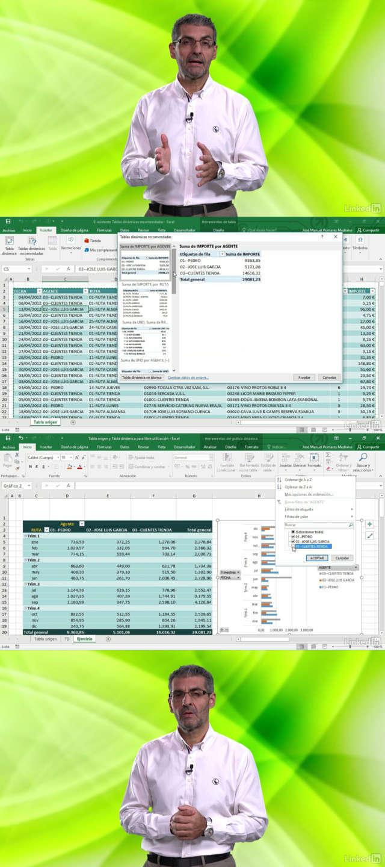 Curso Excel 2016: Aprende a organizar y gestionar Tablas dinámicas