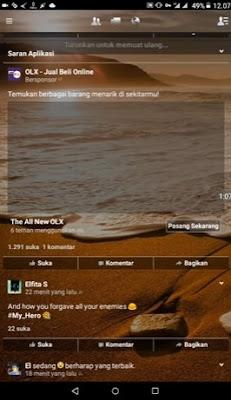 Cara Membuat Facebook Transparan Untuk Android