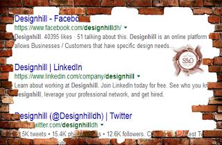 google, rank, social media