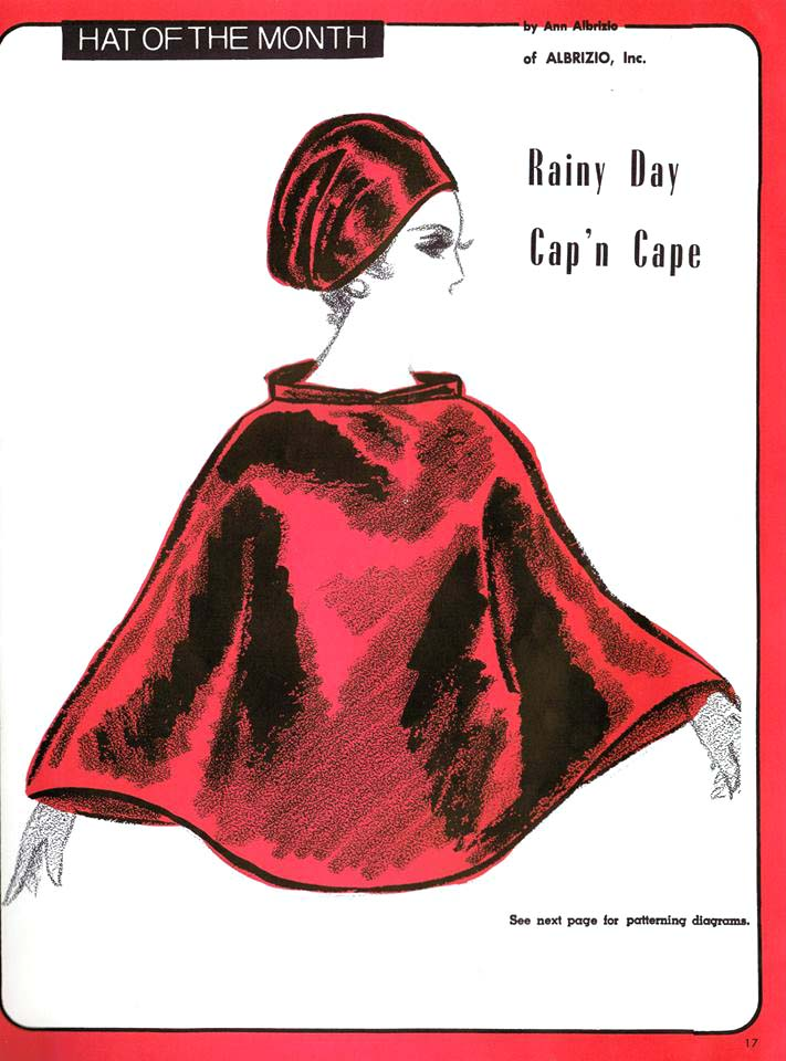 The Vintage Pattern Files 1960 S Sewing Millinery Hat