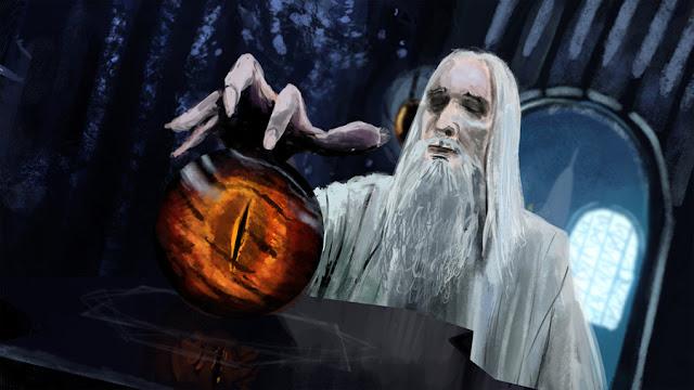 Saruman El señor de los anillos Villanos fantasía
