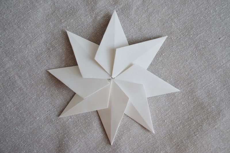 Kanelstrand: How to Make Paper Stars