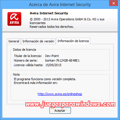 Avira Internet Security v14.0.4.642 Full PC ESPAÑOL 16