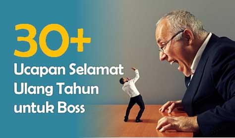 Ucapan Selamat Ulang Tahun untuk Bos atau Atasan