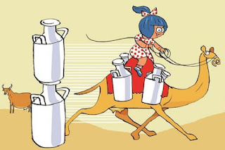GCMMF Limited launches Amul Camel Milk in Gujarat