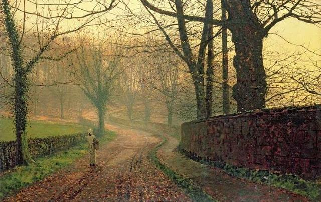 Stapleton Park near Pontefract Sun – John Atkinson Grimshaw