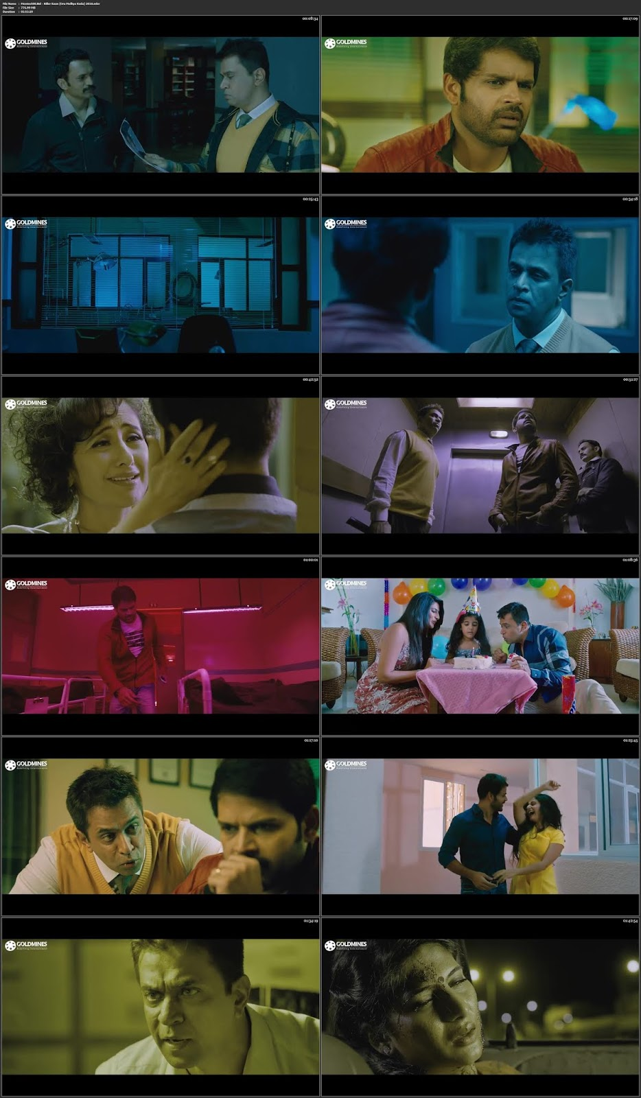Killer Kaun 2018 Hindi in 300MB Movie HDRip 480p