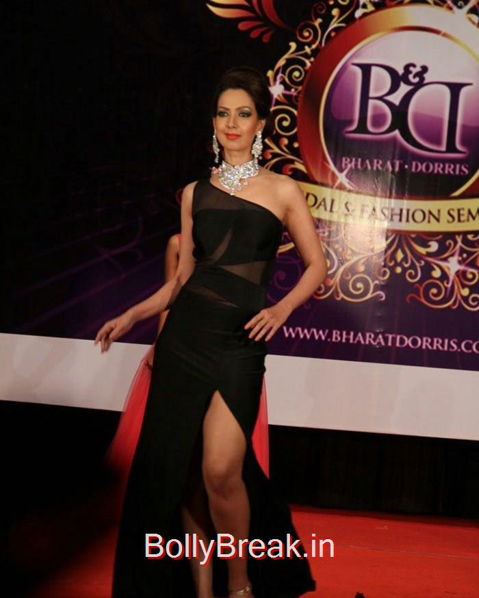 Bharat & Dorris hosts its Mega 'MakeUp & Hair Styling Seminar, Sandeepa Dhar Deepti Gujral Hot Pics At Bharat & Dorris hosts Mega MakeUp & Hair Styling Seminar 2015