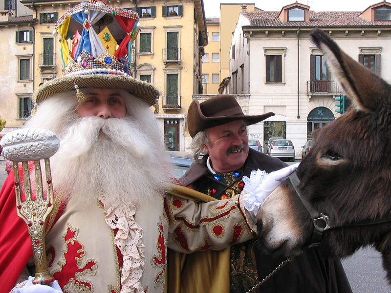 Celebrating Papa del Gnocco! Photo: Verona Tourism.