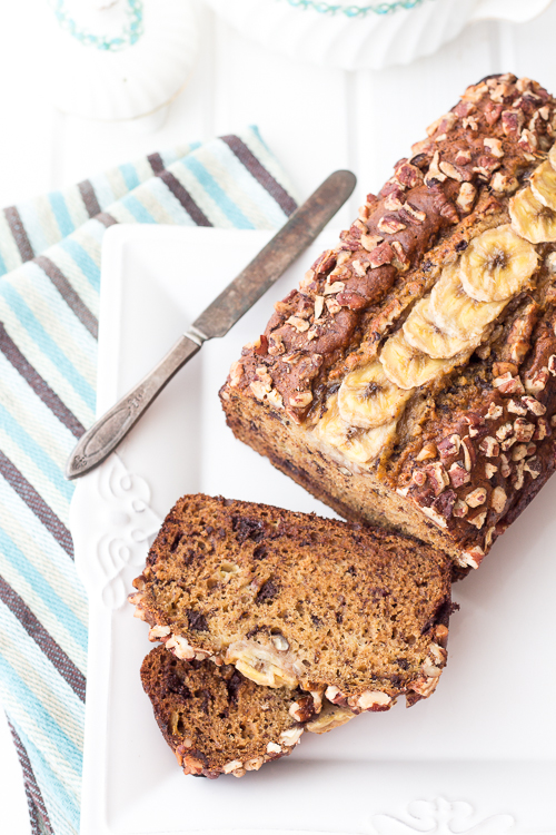 Decadent Banana Loaf