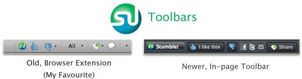StumbleUpon toolbar