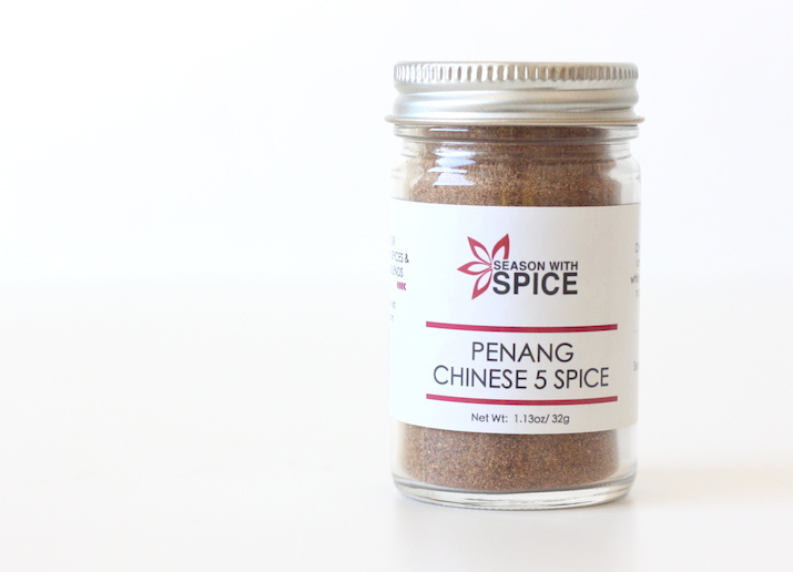 Penang-style Chinese Five Spice available at SeasonWithSpice.com