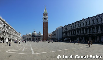 La Piazza di San Marco en Venecia