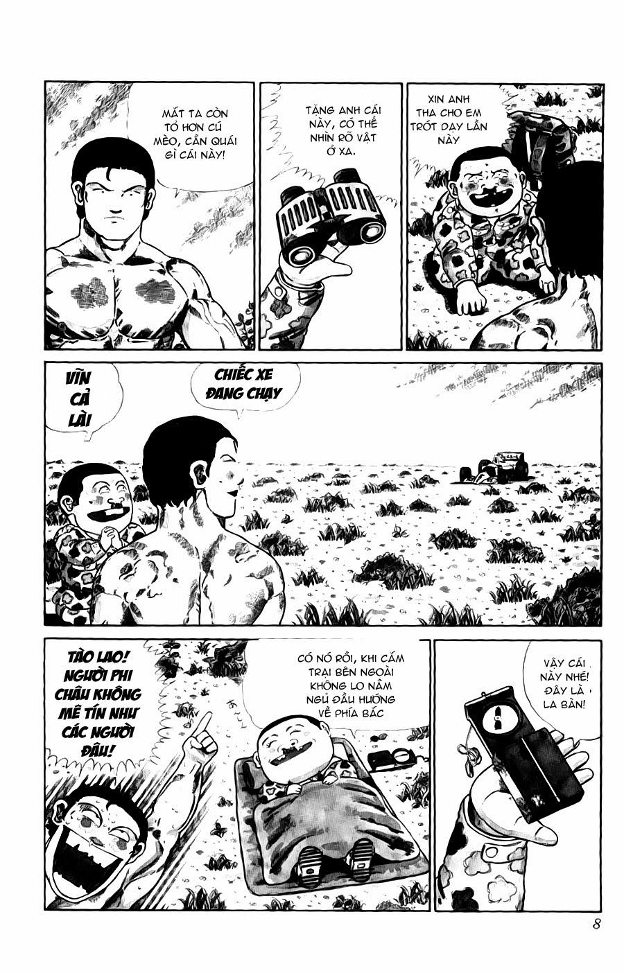 Chúa rừng Ta-chan chapter 113 (new - phần 2 chapter 1) trang 8