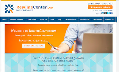 quality of the services offered the resume center