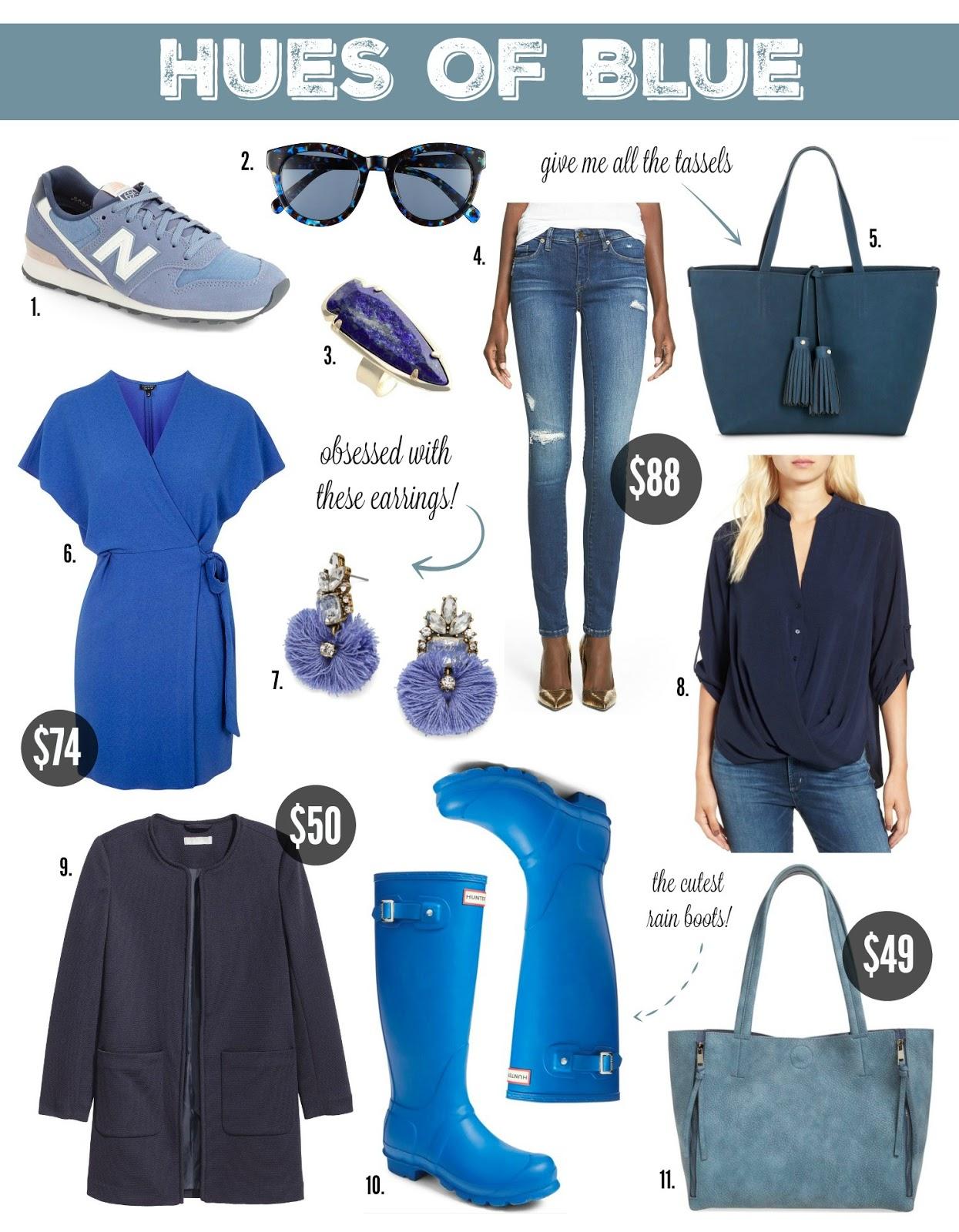 blue fall styles