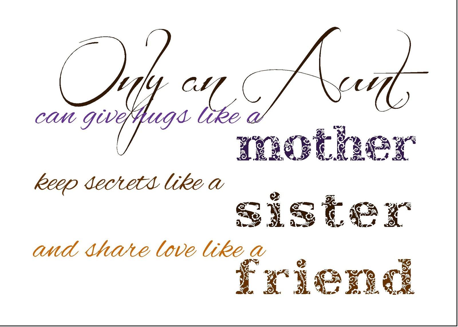 Funny Aunt Quotes. QuotesGram