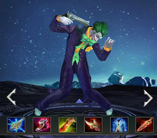 Build Item dan arcana Terbaik The Joker Arena of Valor (AOV) - Damage Tersakit.