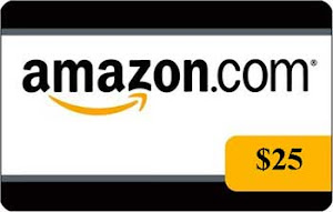 Win a $25 Amazon GC or a book