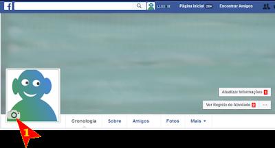 colocar ou mudar fotos de perfil no meu facebook