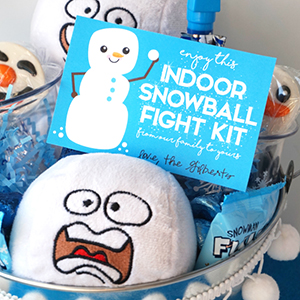 Snowball Fight Gift Idea