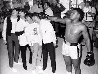 Muhammad Ali con Los Beatles