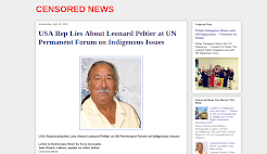USA Rep Lies about Leonard Peltier to United Nations