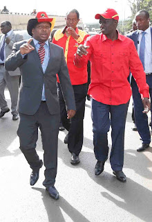 DP william Ruto with Mike Sonko. PHOTO | Courtesy