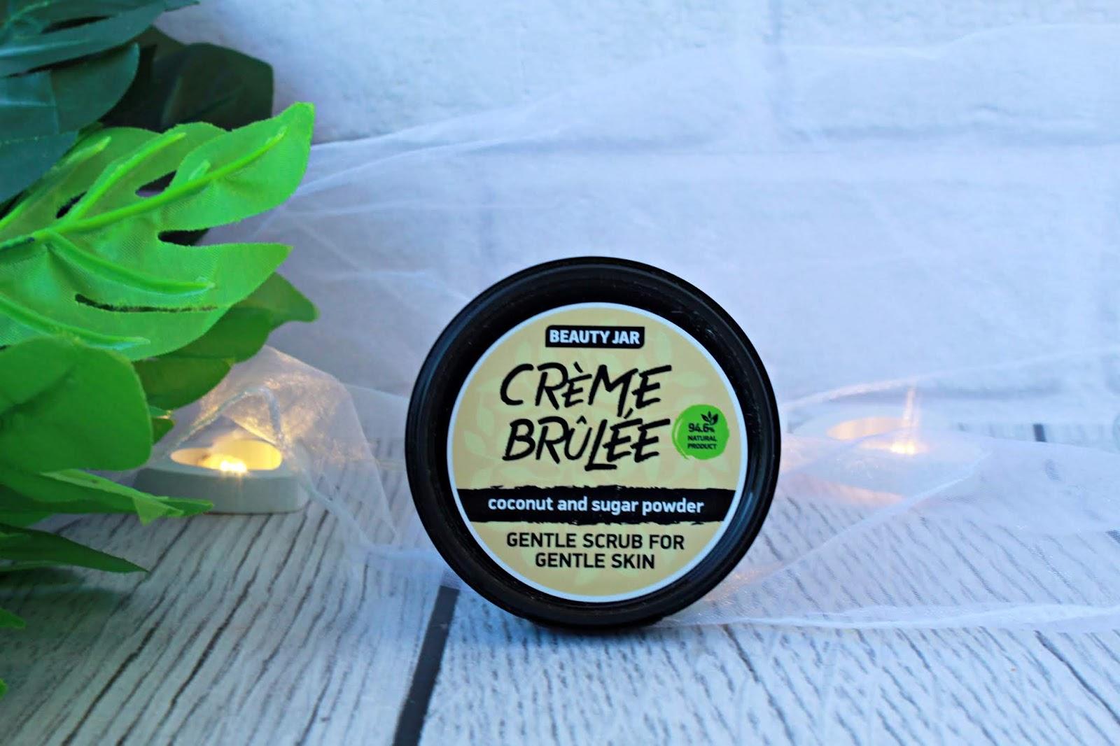 Delikatny scrub do twarzy do skóry delikatnej z wiórkami kokosa - Beauty Jar