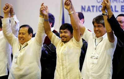 Breaking News: WBA Manny Pacquiao, 37  finally won the Philippines' senate seat