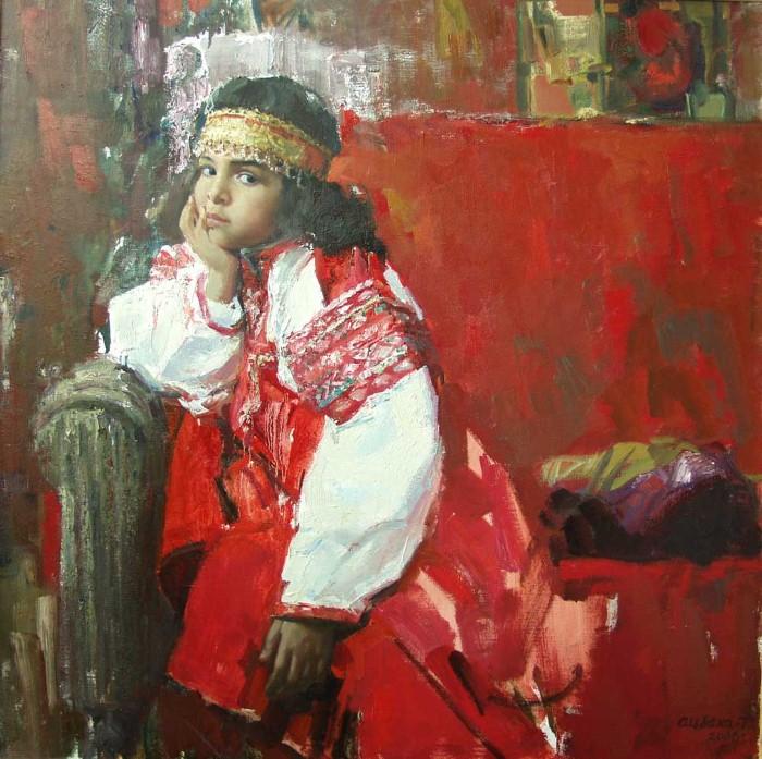 Teasfay Atcbekha Negga. Современный эфиопский художник 5