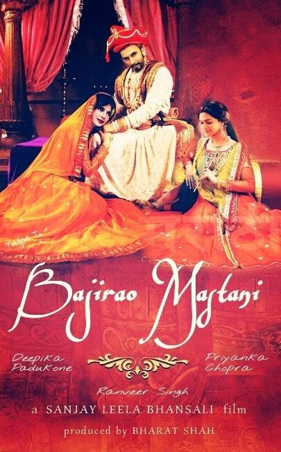 Bajirao Mastani Upcoming movie Ranveer Singh, Priyanka Chopra, Deepika Padukone New Poster & Release date